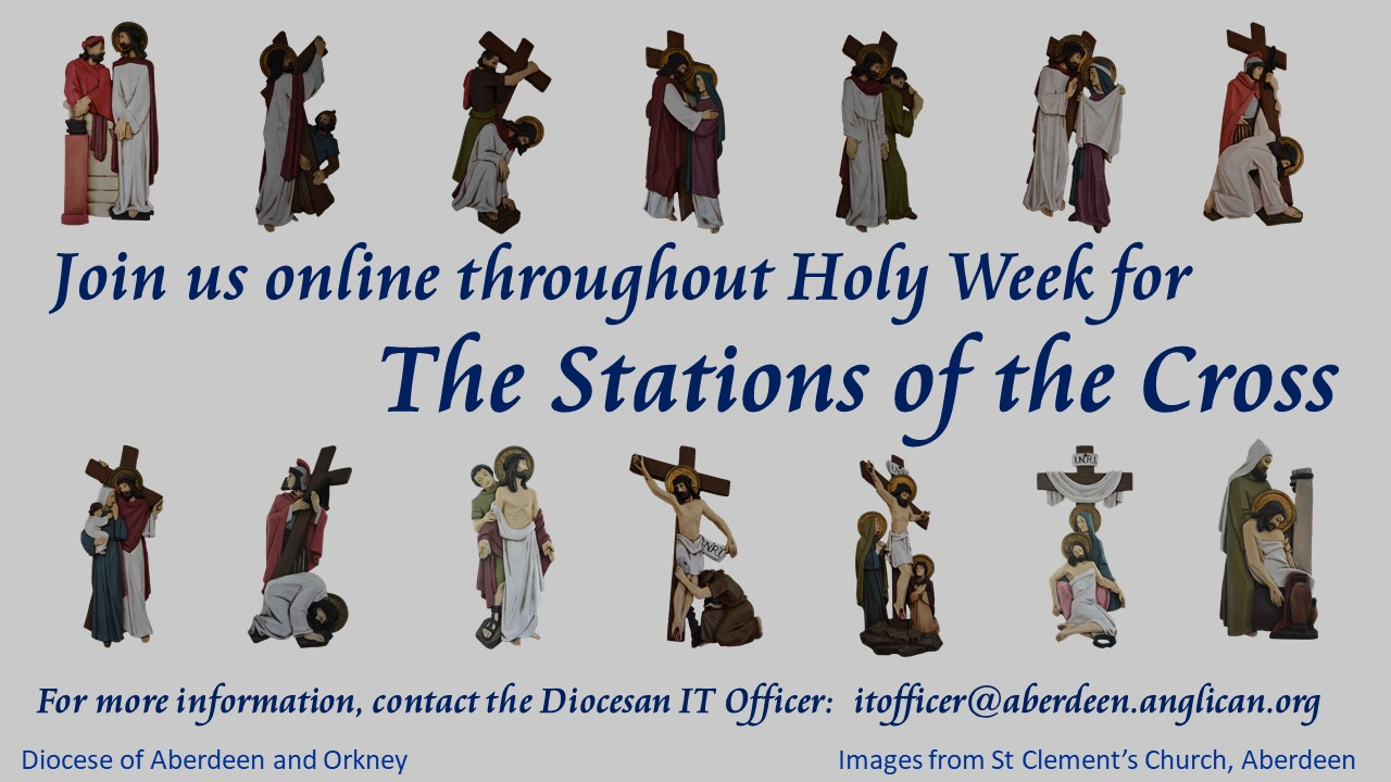 photograph about Stations of the Cross for Youth Printable titled Stations of the Cross - The Diocese of Aberdeen and Orkney