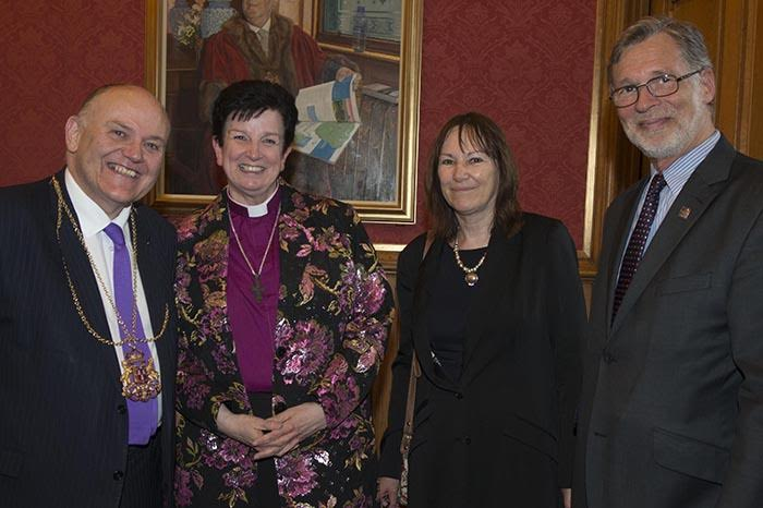 Lord Provost, Bishop Anne, Heather Ingman, Ferdinand von Prodzynski