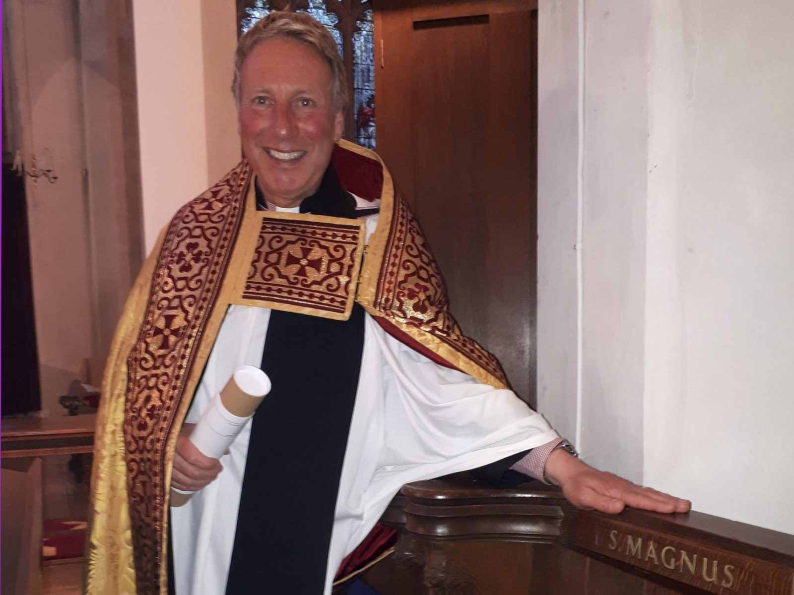 20180902 - N Brice installed as Canon landscape